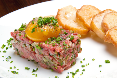 """Steak TarTare"",  Clent - BOULTON & WATT, NYC"