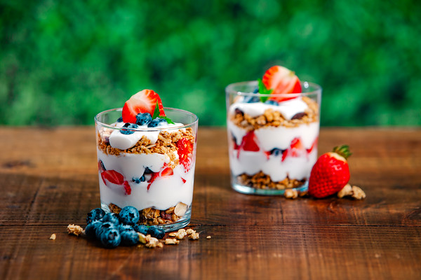 Summer Yogurt Parfaits