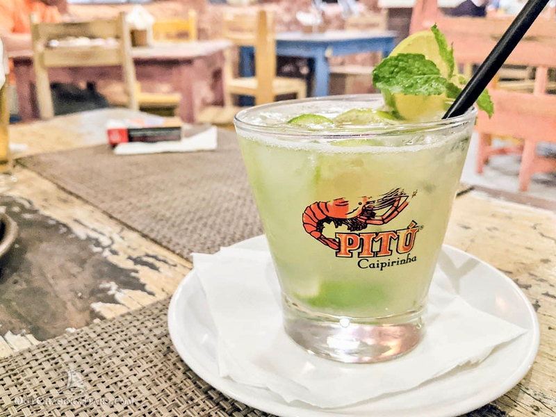 a caipirinha, Brazil's national cocktail