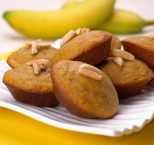 Banana muffin tops for Splenda