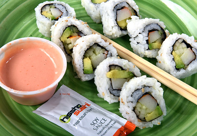 Grocery store sushi is becoming increasingly popular.