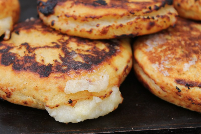 Colombia arepas