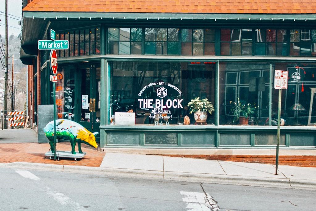 Block Off Biltmore vegan restaurant in Asheville North Carolina