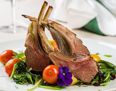 Gourmet lamb chops