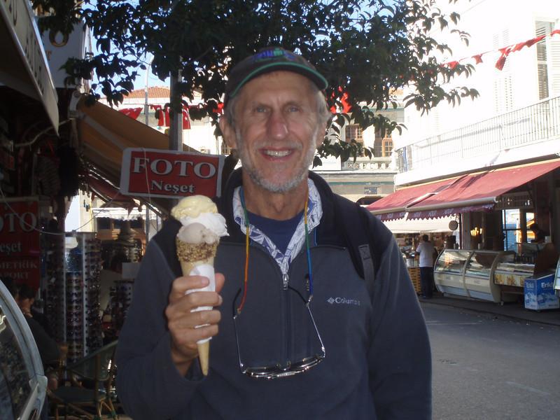 They had gelato in Turkey, too