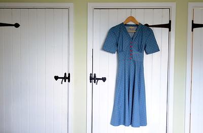 Product shot of a Lindy Bop dress.