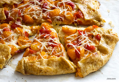 Ricotta, Tomato and Piquante Pepper Galette - Catalog #4068