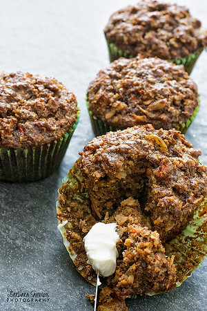 Carrot Cake Muffins (Gluten-Free) - Made with Almond Meal