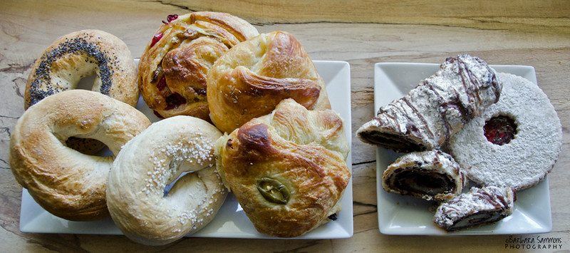 Sweets and Savories from Geraldine's Baker in Asheville, North Carolina