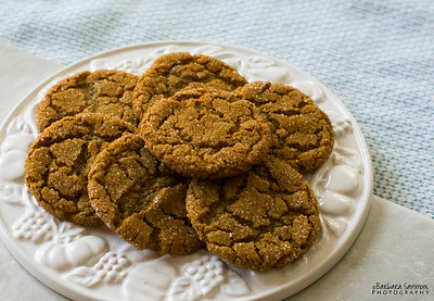 Molasses Ginger Cookies - Catalog #4063