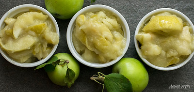 Cooked June Apples