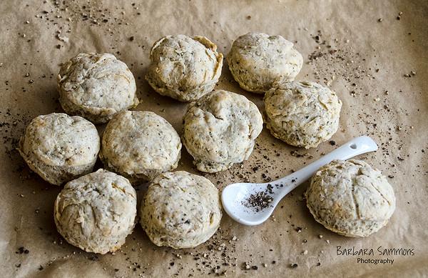 Petite Black Pepper Biscuits