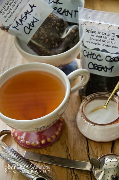 Chocolate Coconut Cream Tea