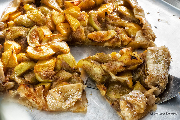 Fresh Fig and Peach Galette