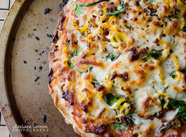 Gluten Free Pizza Dough with Various Toppings