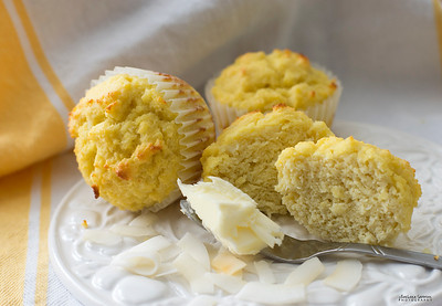 Double Coconut Muffins - Catalog #4074 (Gluten Free and Low Carb)