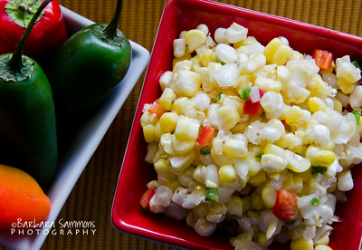 """Kickin' Corn Relish"" - with jalapeno peppers, chipolte powder and sauce"