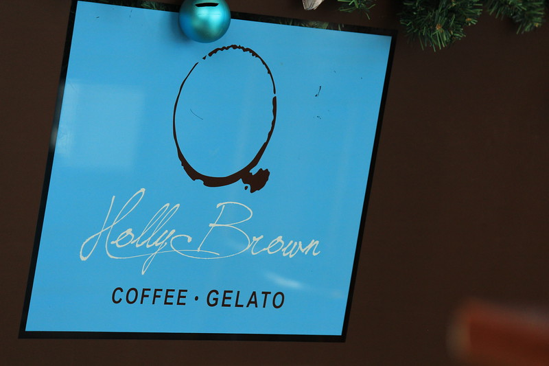 Holly Brown Coffee Shop Logo, Kowloon, Hong Kong