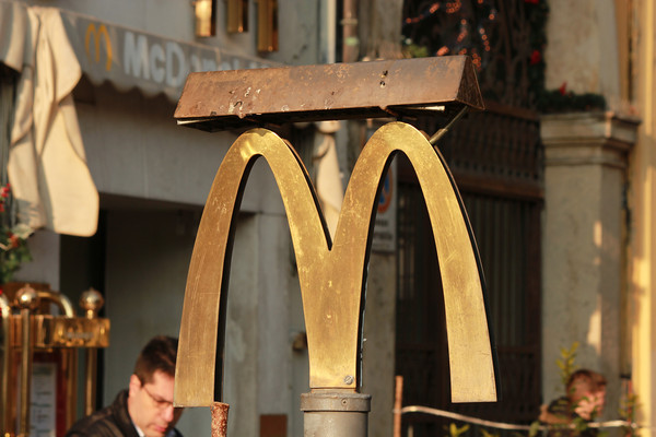 Italy, Verona, Golden Arches