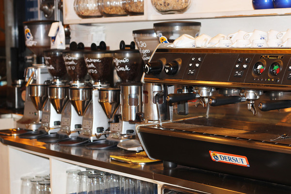 Italy, Verona, Kaffe, Coffee Machine