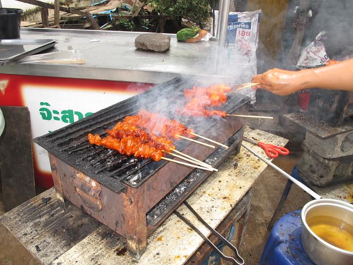 BBQ Chicken form a street vendor