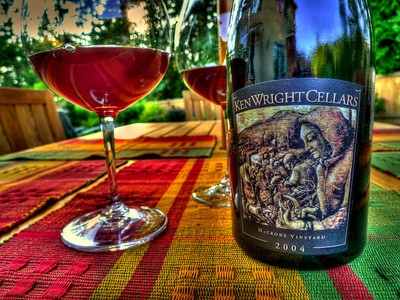 Don McCrone's 10-acre Yamhill, Oregon vineyard produces some of the most expressive fruit that Ken Wright works with. This 2004 Pinot Noir is a robust wine with opulent black fruit flavors.