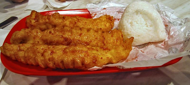 Crispy Fish Ricebox