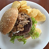 Mushroom Burger (no longer in the menu)
