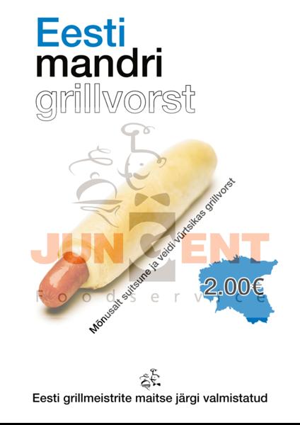 A4 Mandri grillvorst