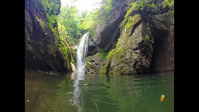 lake jocassee waterfall scenery and nature