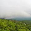 Rough ridge overlook viewing area off blue ridge parkway