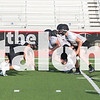 The Eagles football team practices during 2-A-Days on the AHS field in Argyle, Texas, on August 7, 2018. (Andrew Fritz / The Talon News)