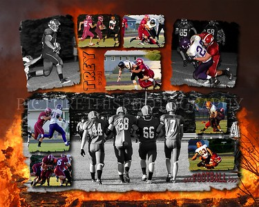 2011 Football collages