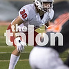 The Argyle eagles play against Burkburnett in the last district game of the season at Burkburnett Highschool in Burkburnett, Texas, on November 10, 2017. (Quinn Calendine / The Talon News)