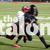 The Argyle Eagles play against Hitschi on Friday, Nov. 3rd at Argyle Highschool in Argyle, Texas, on November 3, 2017. (Quinn Calendine / The Talon News)