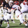 The Eagles play against Levelland in the football playoffs in Clyde Highschool in Clyde, Texas, on November 24, 2017. (Quinn Calendine / The Talon News)