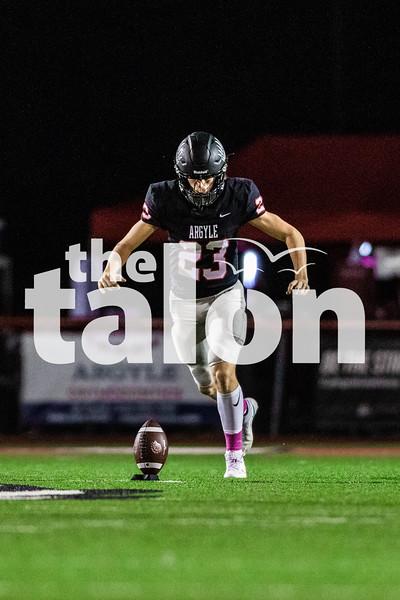Argyle defeats Ranchview at Argyle High School on October 16, 2020. (Nicholas West | The Talon News)