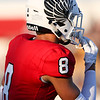 Eagles play against Stephenville for the first game of the season on August 31st 2018. (Jordyn Tarrant / The Talon News)