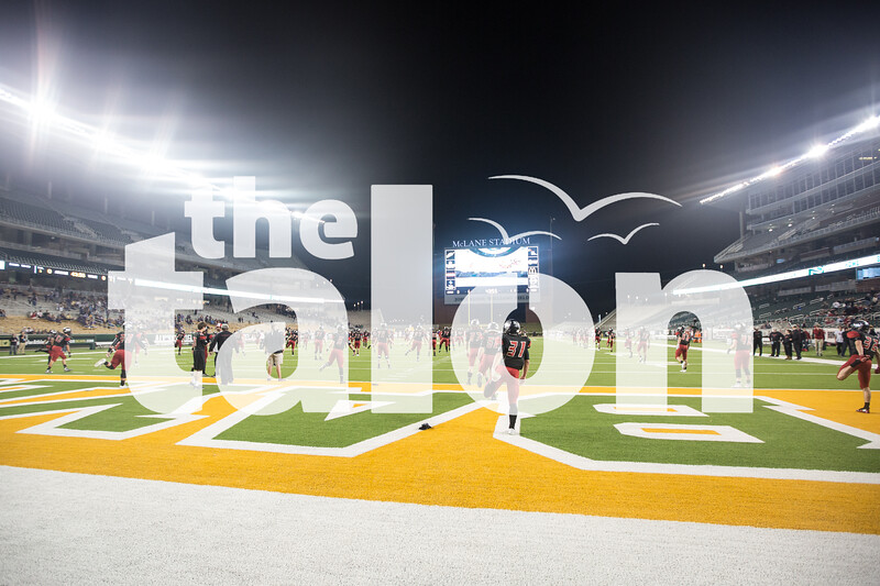 The Eagles take on Abilene Wylie on Dec. 11, 2015 at McLane Stadium in Waco, Texas. (Christopher Piel/The Talon News)