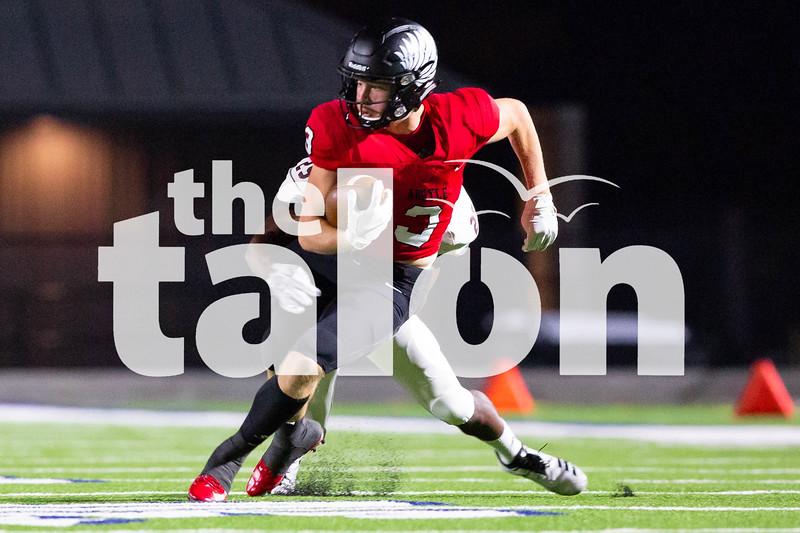 Eagles play Liberty Eylau on September 26, 2018, in Sulphur Springs, TX. (GiGi Robertson/The Talon News)