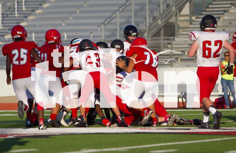 Freshman football defeats the Hirschi Huskies at Argyle High School in Argyle, Texas on Oct. 27, 2016. (Campbell Wilmot/The Talon News)