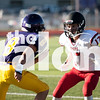Freshmen football take on Sanger Indians at Sanger High school in Sanger, Texas on Monday. (Elli Marusa / )