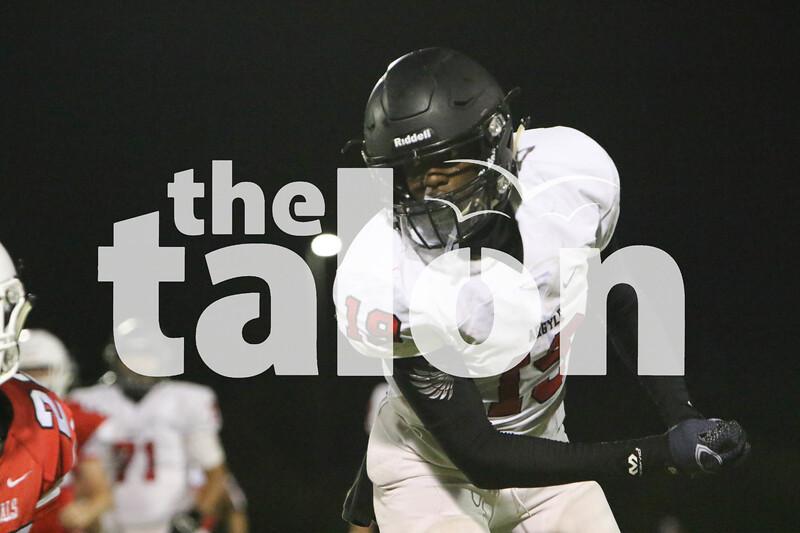 JV football plays Melissa (Delaney Lechowit- The Talon News)
