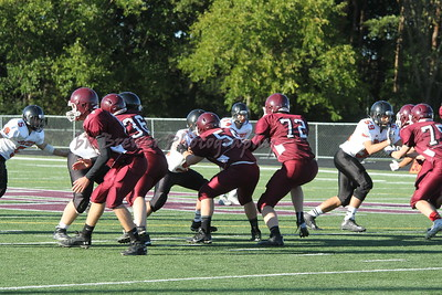 HCHS fresh/jv fball vs Byron Center