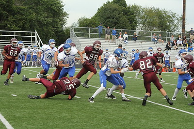 HCHS freshman fball vs GR Catholic Central
