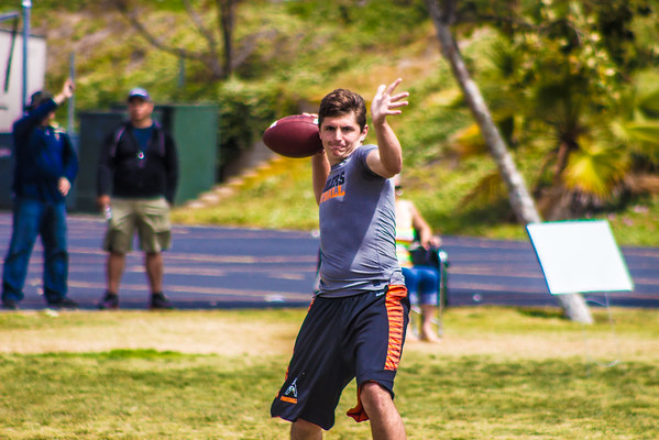 Dana Hills Passing Tournament 5-14-2016