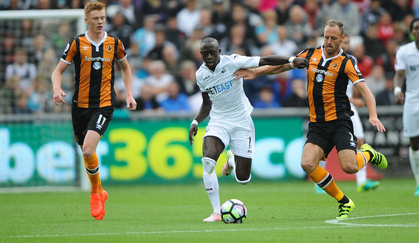 2016 Premier League Football Swansea v Hull City Aug 20th