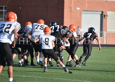 Ironton at Coal Grove Middle FB 9-28-2017
