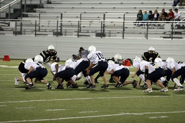 Howard A Team vs Worley A Team Football