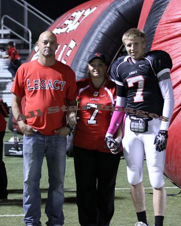 Legacy Football - 2011 Senior Night